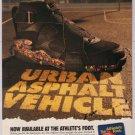 NIKE Air Raid II '90s PRINT AD shoes Athlete's Foot advertisement 1993