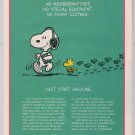 MetLife Snoopy '90s PRINT AD Woodstock insurance advertisement 1994