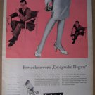 Bel Ami stockings '50s German PRINT AD vintage advertisement 1957