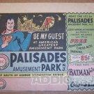 Palisades Park coupon ad '60s PRINT AD Superman vintage advertisement 1965