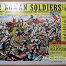 132 Roman Soldiers '80s PRINT AD military army toys vintage comic book advertisement 1981