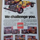 Lego Expert Builder Series '80s PRINT AD building toys vintage advertisement 1980