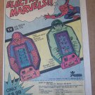 Spider-Man Rescue, Hulk Escapes Bandai handheld video games '80s PRINT AD vintage advertisement 1980