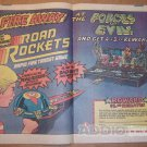 Road Rockets '80s PRINT AD car toy 2-page vintage advertisement 1981