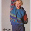 Brooke Theiss promo postcard 'Just the Ten of Us' cute actress television show 1980s '80s