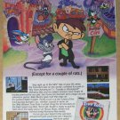 Tiny Toon Adventures 2 '90s PRINT AD Konami Montana Max video game advertisement 1993