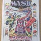 MASK promo comic book '80s PRINT AD Kenner toys DC Comics 1985