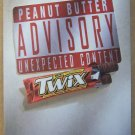 Twix Peanut Butter PRINT AD Mars candy bar advertisement 2001