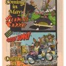 FLAMING CARROT Cutey Bunny '80s PRINT AD Aardvark-Vanaheim comic book advertisement 1984