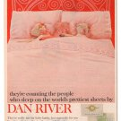 Dan River sheets pillow cases Advertisement Ad Clipping 2011