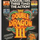 Double Dragon III video game '90s PRINT AD Nintendo NES Acclaim advertisement 1991