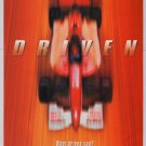DRIVEN movie PRINT AD race car film advertisement 2001