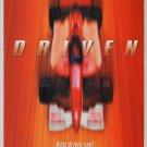 DRIVEN movie PRINT AD race car film advertisement 2001