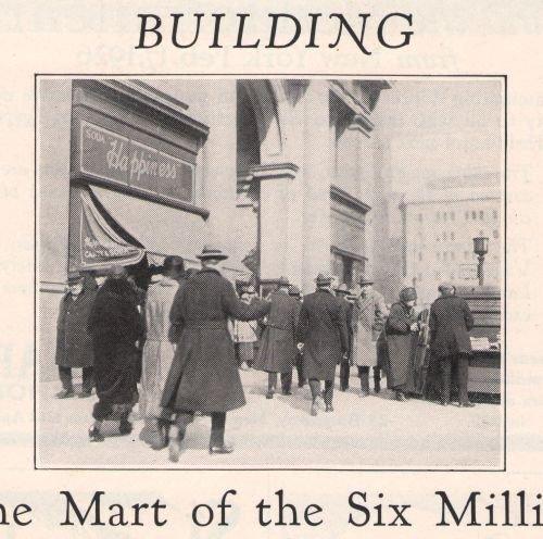 Fifth Avenue Building '20s Broadway New York History Original Ad Page Vintage 1925