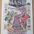 MASK promo comic book '80s PRINT AD Kenner toys DC Comics advertisement M.A.S.K. 1985