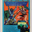 MOTU video game '80s PRINT AD Mattel Masters of the Universe Power of He-Man advertisemement 1983