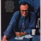 LARRY KING got milk '90s PRINT AD milk mustache advertisement 1997