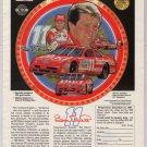 NASCAR Bill Elliott '90s PRINT AD red #11 Budweiser Thunderbird advertisement 1994