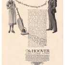 Hoover Vacuum Cleaner '20s Housewife Domestic Life Husband Print Ad Vintage 1925