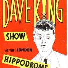 Programme - London Hippodrome, Dave King Show, 1950s