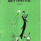 Programme Hippodrome, Brighton- Vic Oliver 'So this is Show Business' -June 1952