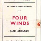 Theatre Programme: Phoenix Theatre, London - FOUR WINDS - 1953