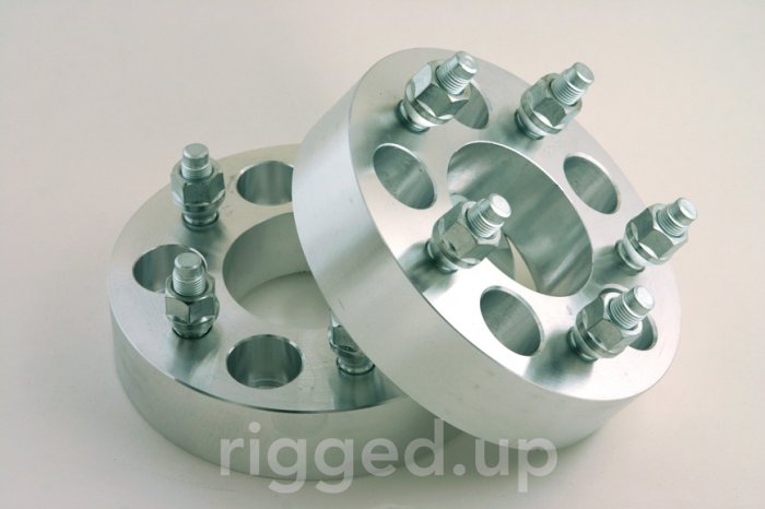 WHEEL SPACERS ADAPTERS Jeep Wrangler Cherokee 1.25""