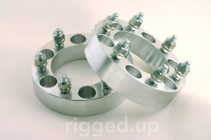 WHEEL SPACERS ADAPTERS Chevy GMC Tahoe 6 lug truck 1.5