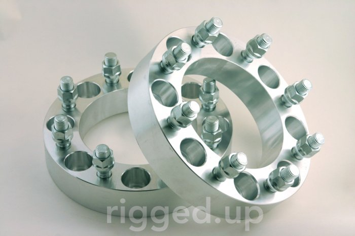 WHEEL SPACERS ADAPTERS 8 Lug Chevy HD GMC Truck 1.5""