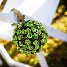 Pomander, Kissing Ball, or Pew Decoration...Simply Elegant