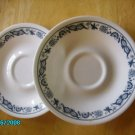 "Corelle ""Old Town Blue"" Coffee Cup Saucers 1 Available"