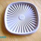 Servalier Bluish Grey Replacement Lid Tupperware #837