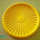"Servalier Yellow Replacement Lid Tupperware 4 1/2"" #812"