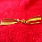 Vintage Marvella Signed Goldtone Brooche Bow Style A collectible beauty