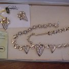Vintage Ralph Singer Ora Creations Necklace & Earrings  BEAUTIFUL