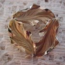 Vintage INC.1/20 12k GF Swirl of Leafs Gold Filled Brooch Pin