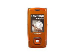 Samsung SGH-E900 Orange