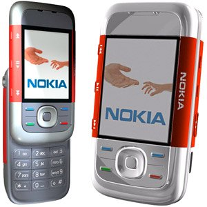 Nokia 5300 Unlocked Triband GSM Music Phone Red