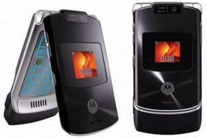 Motorola V3XX Cell Phone (unlocked) - Black