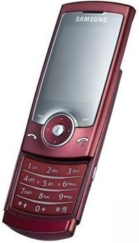 Samsung U600-red