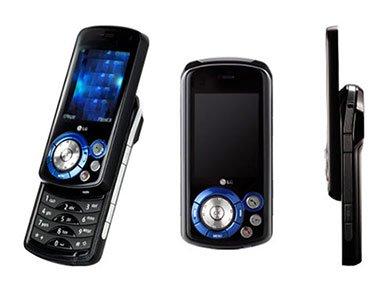 LG KE600 Tri-Band Multimedia Music Phone