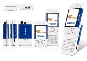NOKIA 5200 BLUE TRIBAND UNLOCKED PHONE
