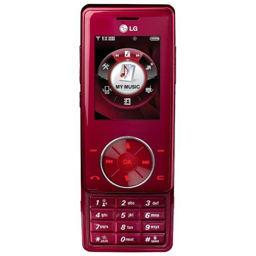 LG Chocolate - Red
