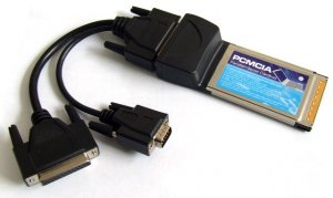 PCMCIA Parallel & Serial Card ( PCMCIA Universal Parallel & Serial Port )