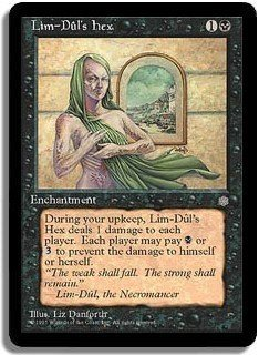 Lim-Dul's Hex - Magic The Gathering