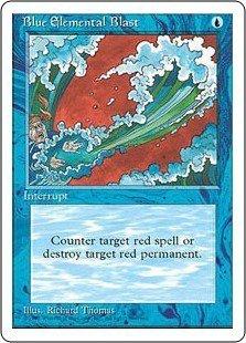 Blue Elemental Blast - Magic The Gathering