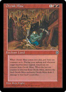Orcish Mine - Magic The Gathering