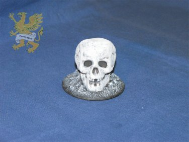 60mm Skull Base #1201 - Scenery - (Base for Wargame)