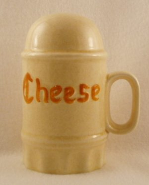 Large Vintage Ceramic Cheese Shaker 1970's