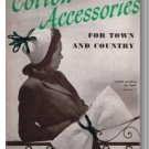 Cotton Accessories for Town and Country: Crochet & Knitting Patterns, Coats